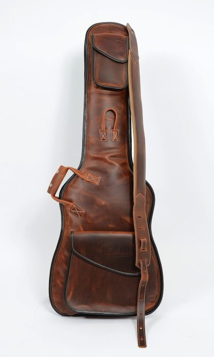 Bags Straps Luthman Unique Handmade En Guitar Bag Leather Guitar Straps Guitar Case