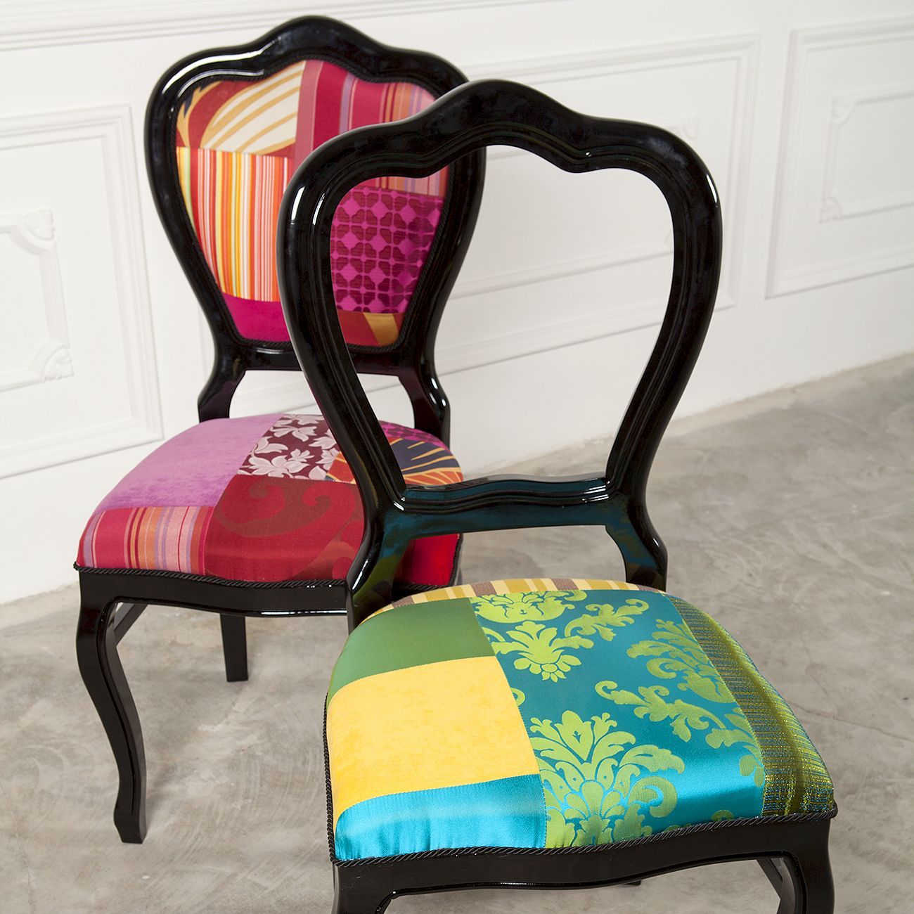 Patchwork Dining Chairs Patchwork Chair Funky Chairs