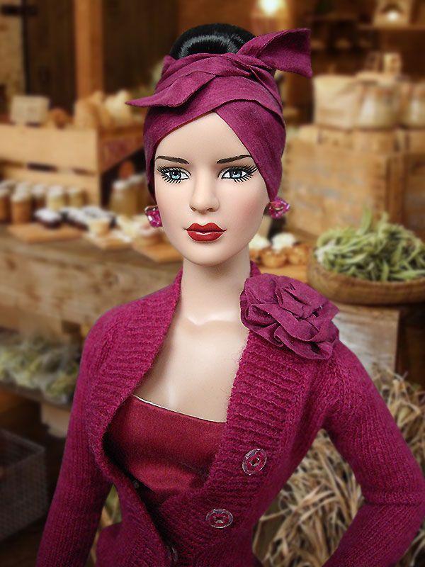Audrey in pink bathing suit. | Audrey hepburn barbie