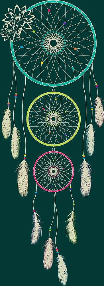 How Do Dream Catchers Work Httpwwwredbubblepeoplemellowgrooveworks21384947Lotus