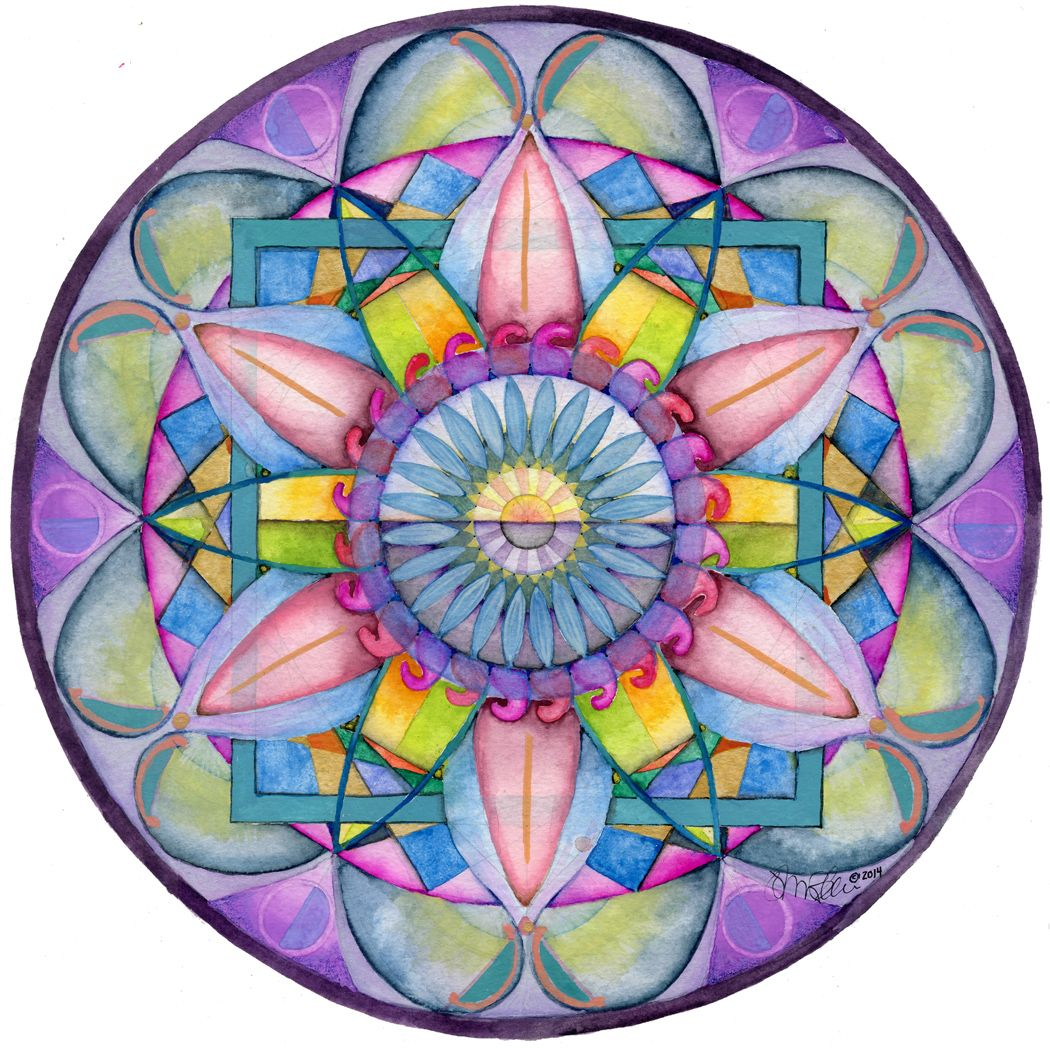 an amazing artist makes mandala themed decoupage glass plates and