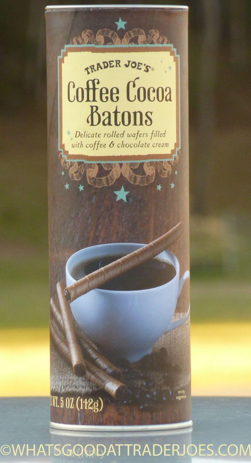 Trader Joe's Coffee Cocoa Batons Joe coffee, Trader joes