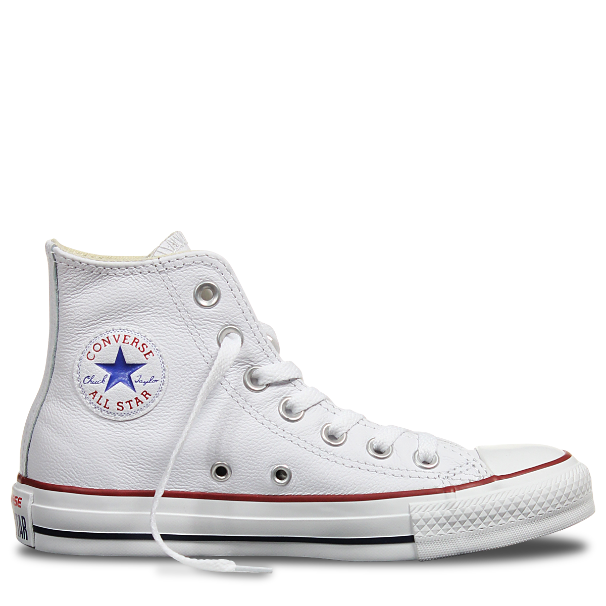 Chuck Taylor All Star Fancy Leather white Converse | How to