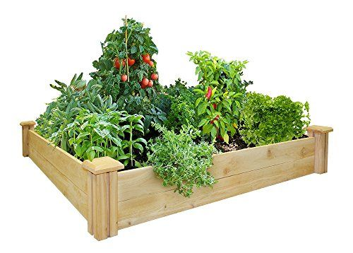 How To Build A Square Foot Garden And Save Space  Video