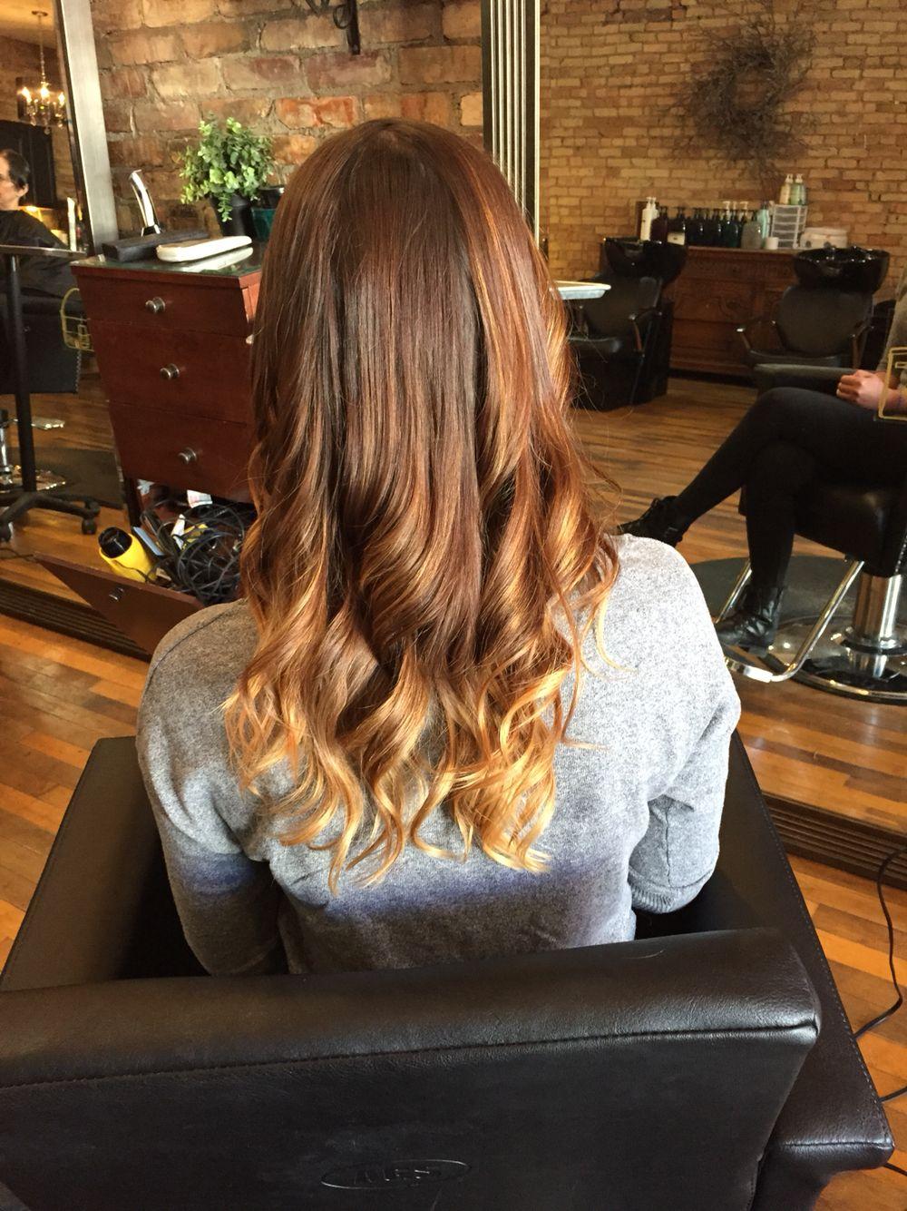 Love this ombré !   Long hair styles, Beauty hacks, Hair styles