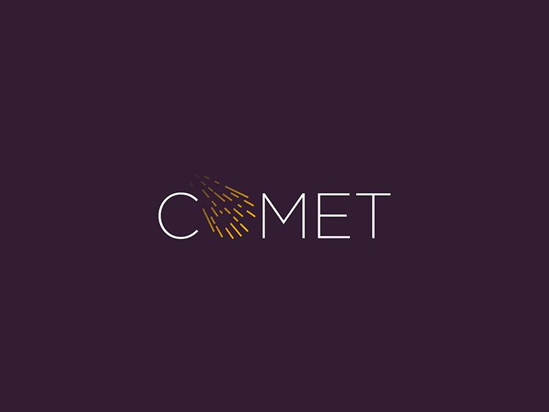 Comet Logo Logos Logos Design Logo Word