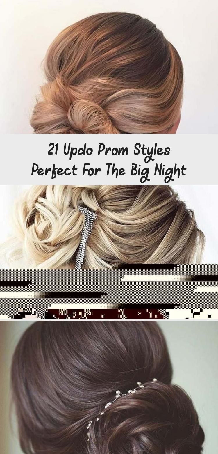 21 Updo Prom Styles Perfect For The Big Night #lowsidebuns
