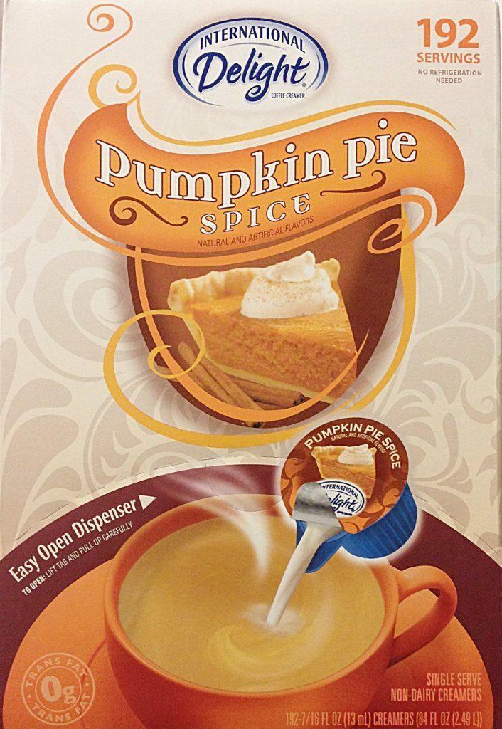 Pumpkin spice drinks! International delight pumpkin spice creamer. #pumpkin #pumpkinspice #spice #drinks