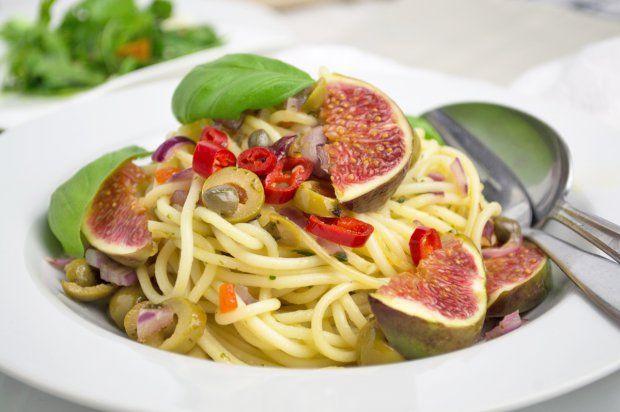 Spaghetti mit Feigen-Rezept   GuteKueche.at