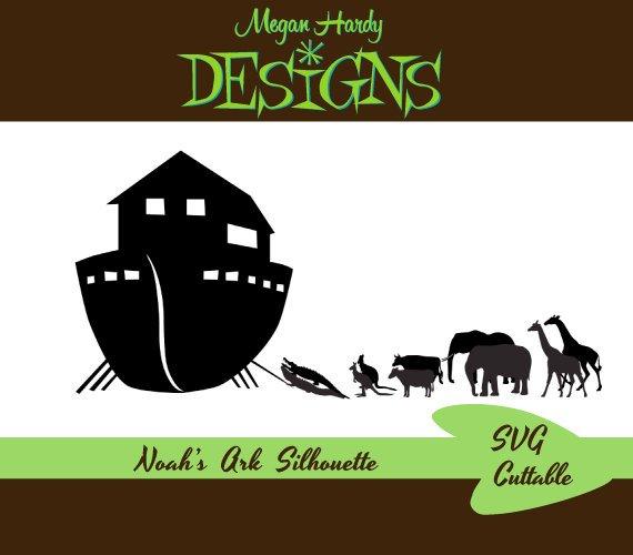 Noah's Ark Silhouette In 2020