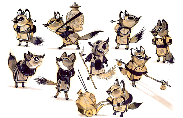 Red panda, Master Shifuu