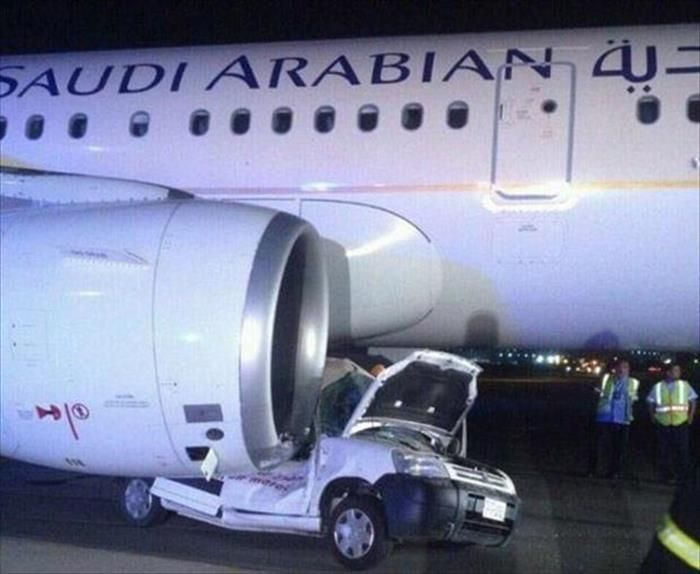 Try Explaining That One To Your State Farm Insurance Claims Adjuster Airlines Aircraft Engine Lockerbie