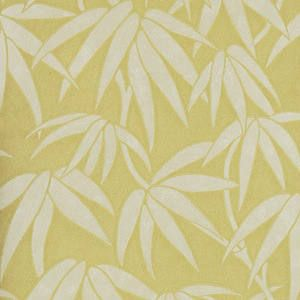 papel pintado Misaki amarillo, telas & papel