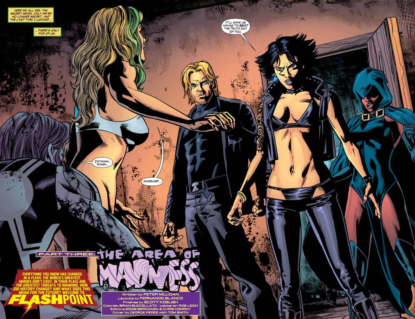 Image result for Zatanna's outfit flashpoint