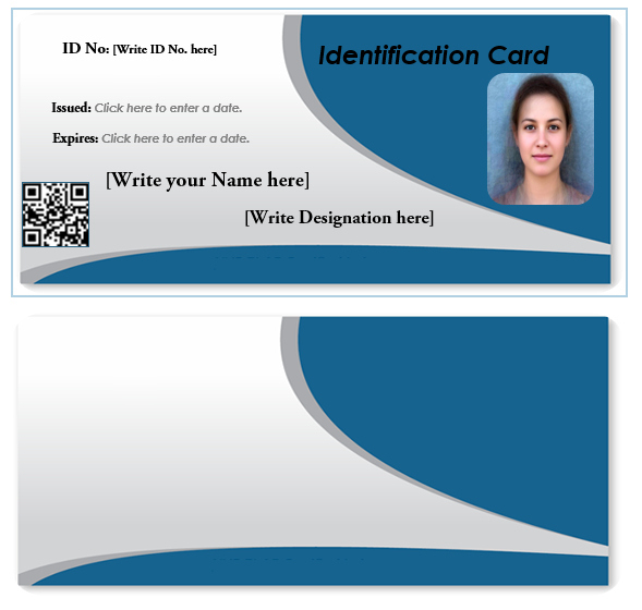 43 Adding Employee Id Card Template In Word For Ms Word With For Professional Employee Card Template In 2021 Id Card Template Employee Id Card Card Templates Printable