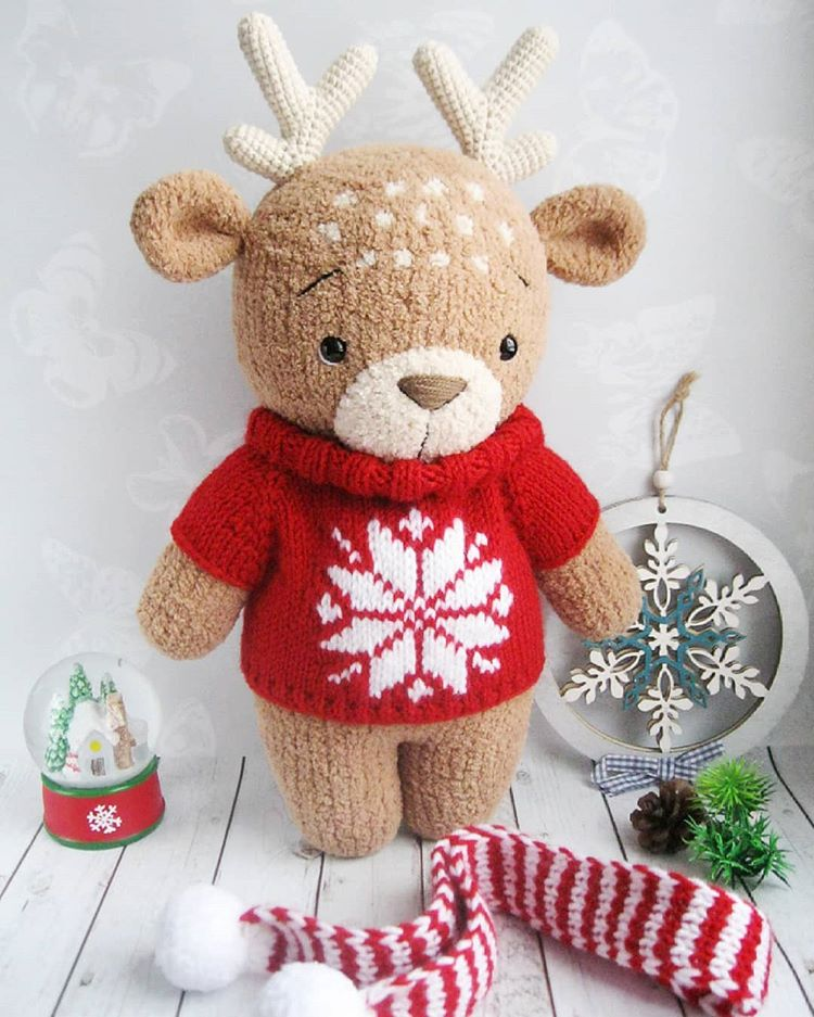 Get 70 Crochet Teddy Bear Patterns for free. See tons of photos ... | 937x750