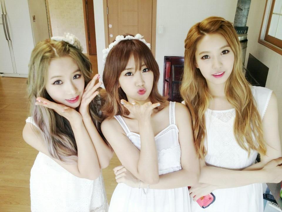 Bestie Uji Hyeyeon Dahye Besties Kpop Girls Preety Girls