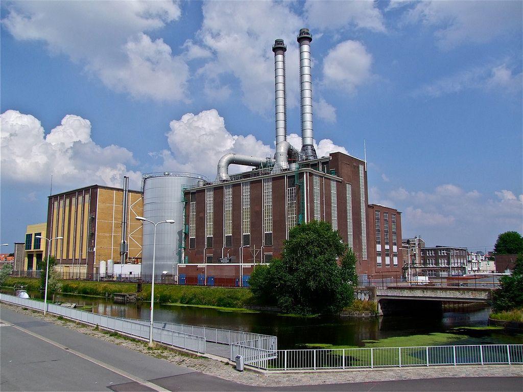 Industrieel  erfgoed. Voormalige energie centrale.