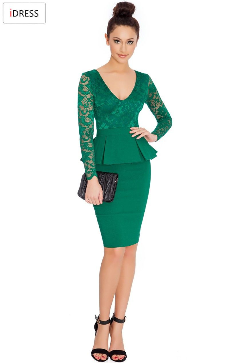 IDress Women Work Dresses 2016 New Fashion for the Office Sexy ...