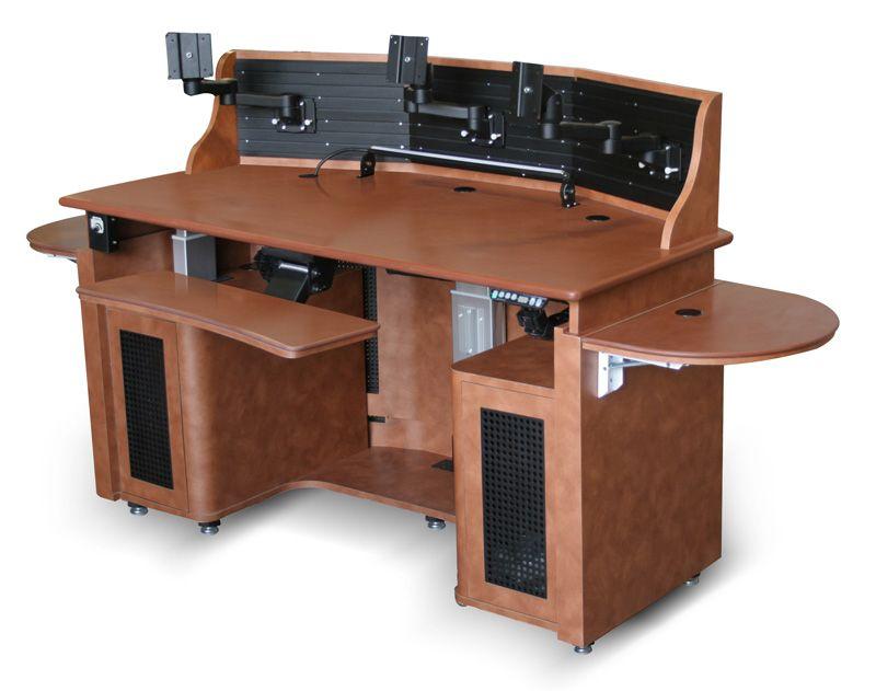 workstation three monitors security desks related keywords suggestions security desks long. Black Bedroom Furniture Sets. Home Design Ideas