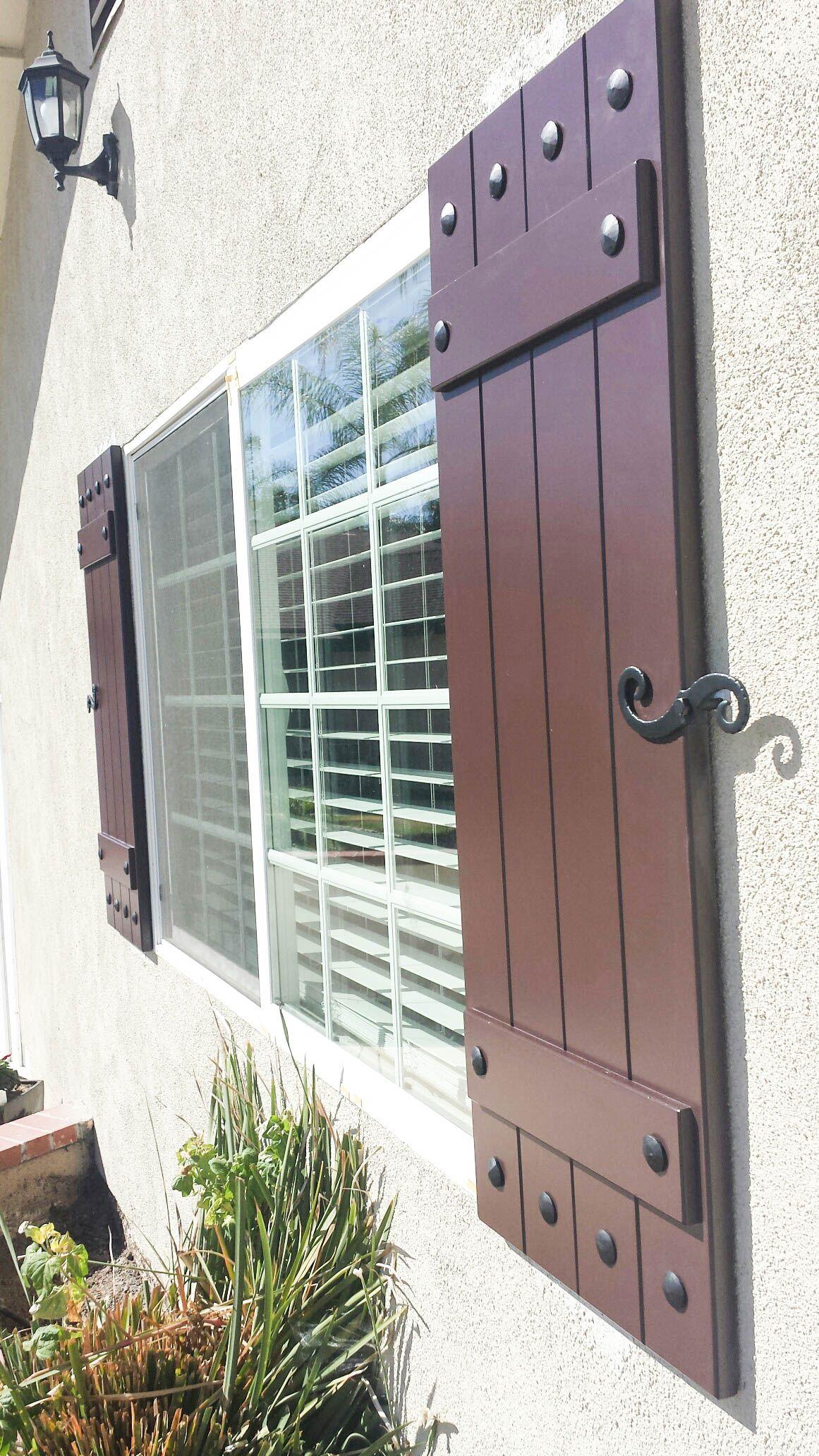 Wrought Iron Exterior Window Shutters Metal Wall Art Window Shutters Exterior Windows Exterior Shutters Exterior