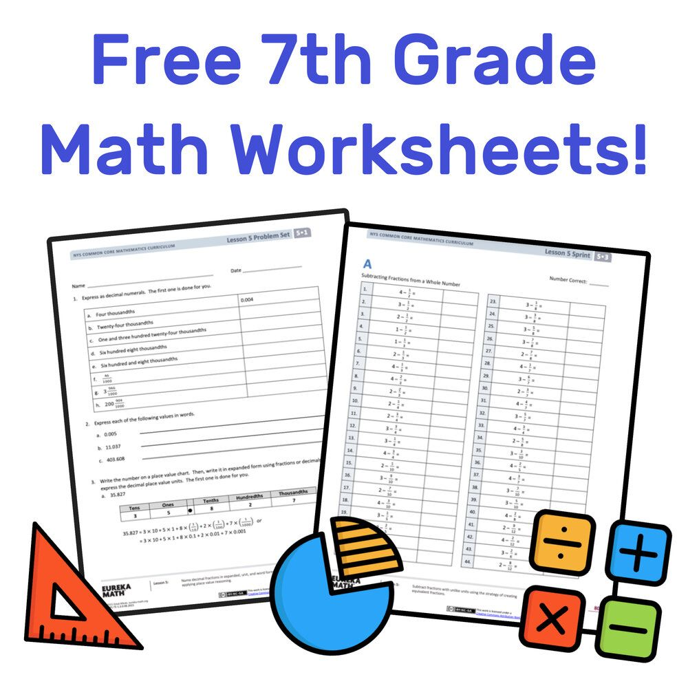 The Best Free 7th Grade Math Resources Complete List Mashup Math In 2020 7th Grade Math 7th Grade Math Worksheets Math Resources [ 1000 x 1000 Pixel ]