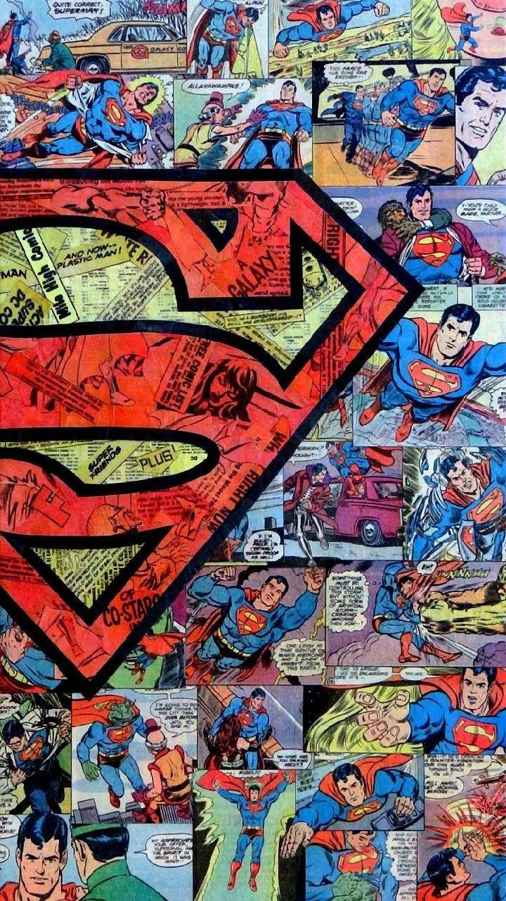 Superman ~ Phone wallpaper   Superhero wallpaper, Superman ...
