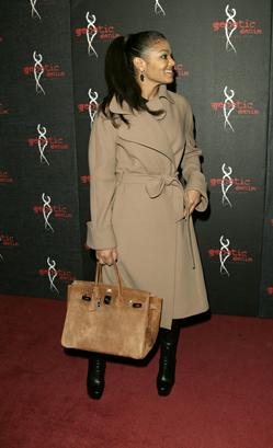 Janet Jackson   her suede Hermes Birkin ❤ Hermes Birkin, Hermes Bags, Birkin aefff32661f