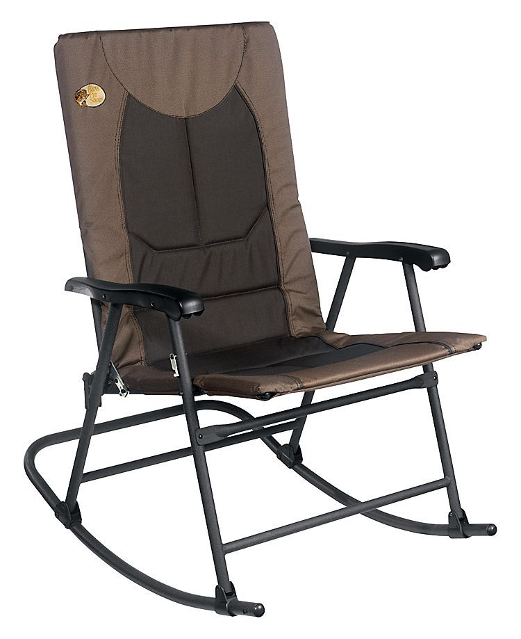 Bass Pro Shops Big Outdoorsman Rocker FoldUp Chair