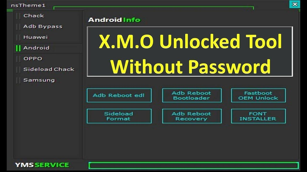 X M O Android Huawei Oppo Adb Bypass Tool 2019 Update By Jonaki