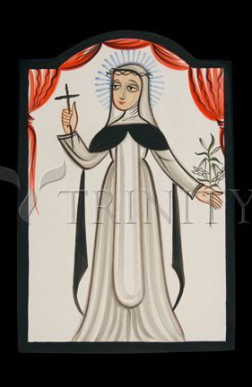 St Catherine Of Siena Catholic Christian Religious Art Retablos
