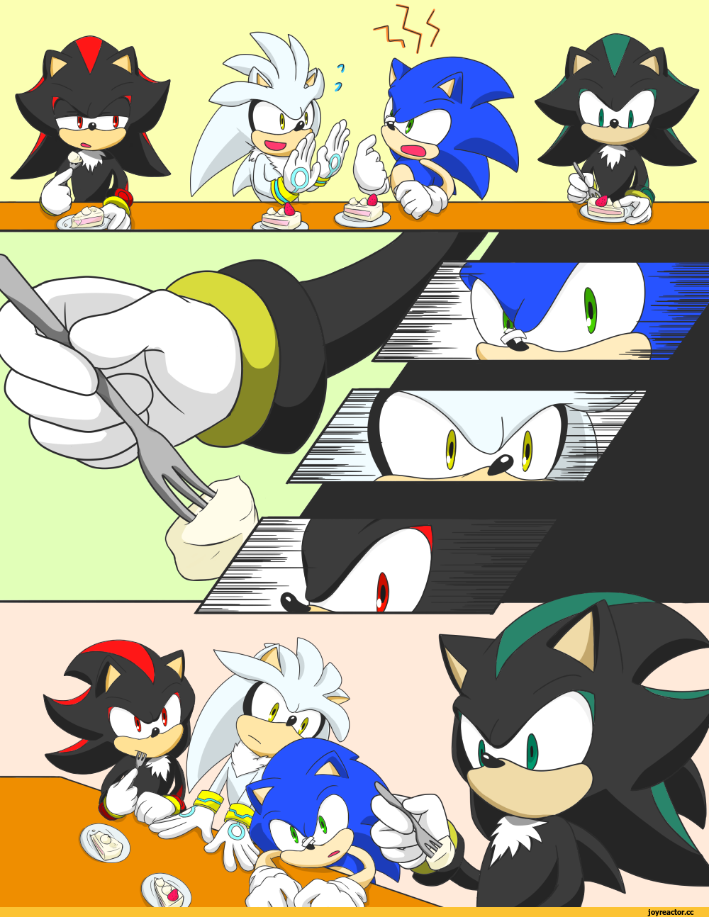 Sonic Shadow Silver And Melphiles ソニック おもしろい