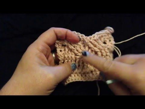 12 Steken Kabel Haken Rustige Uitleg Deel 2 Crochet Cable