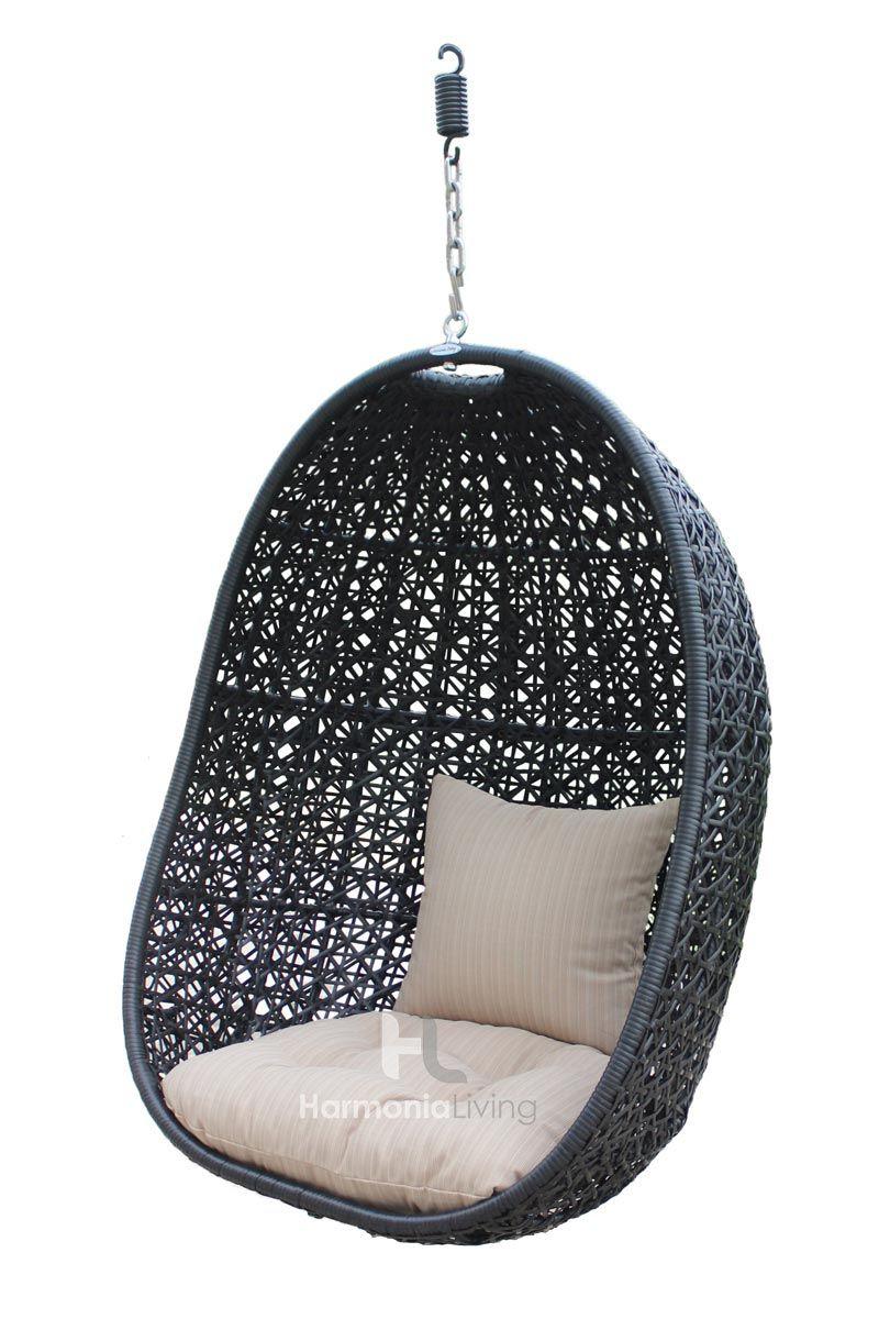 Nimbus Outdoor Hanging Basket Chair Hl Nmbs Cb Bskt St With Images Basket Chair Hanging Chair Outdoor Hanging Chair