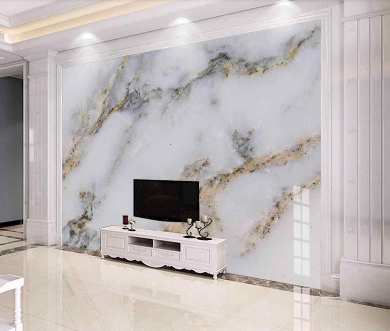 Bacaz Schwarz Weiss 8d 3d Marmor Tapete Wandbild Fur Wande Tv Hintergrund 3d Marmor Wan Marble Wallpaper Bedroom Wall Painting Living Room Wallpaper Living Room