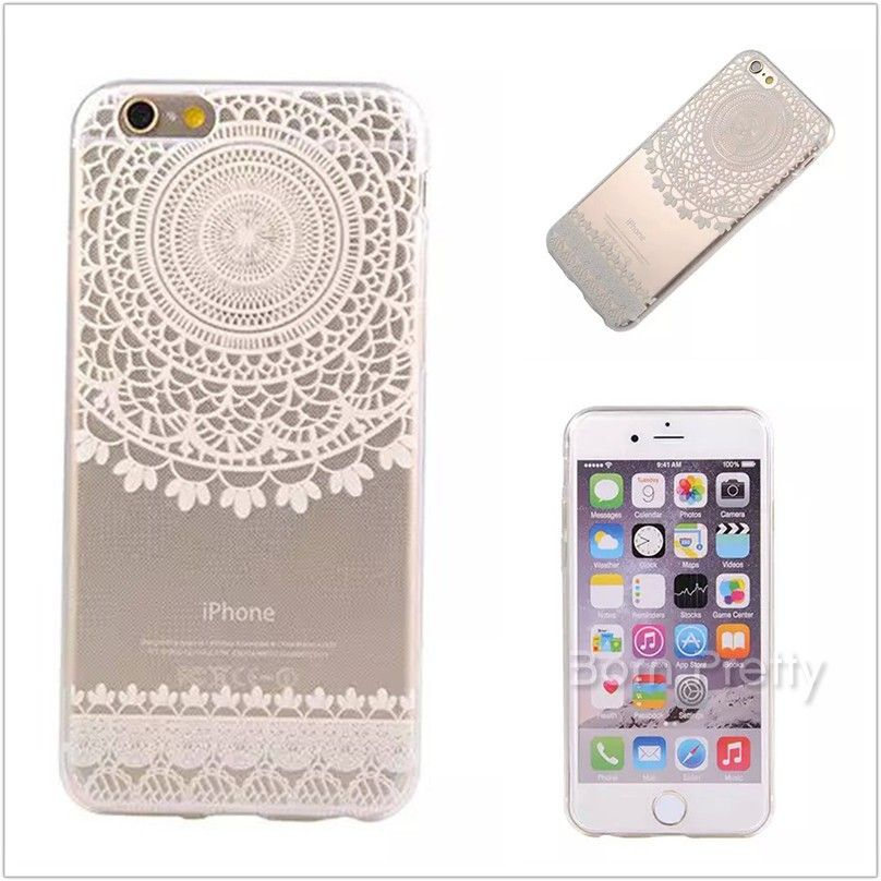 $1.42 1 Sheet Flower 3D Nail Art Stickers Silver Lace Pattern Stamping Nail Tips Stamping Decals - BornPrettyStore.com