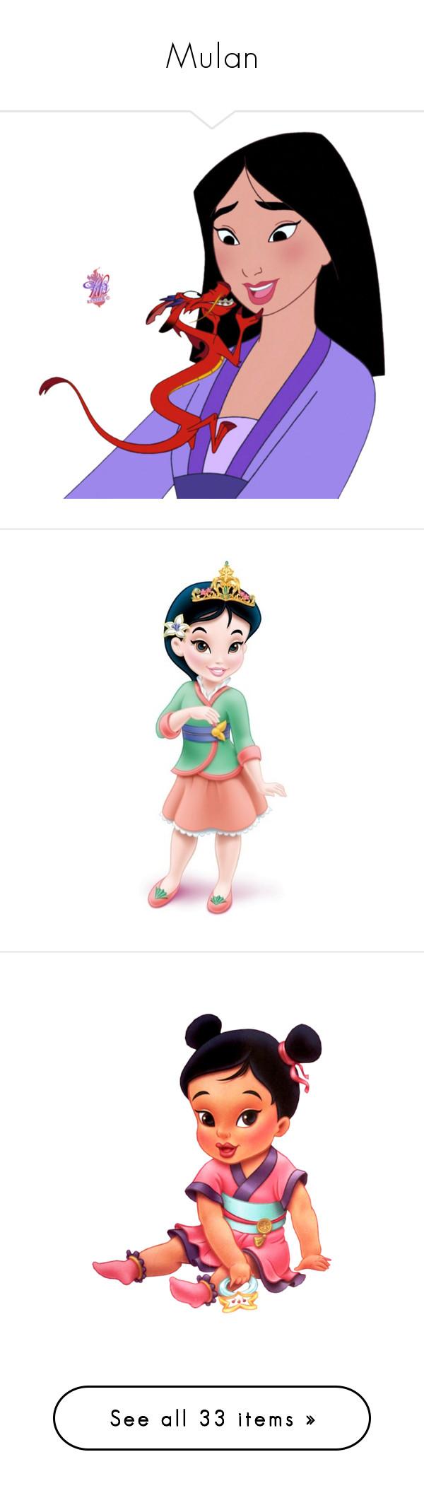 """""""Mulan"""" by asia-12 ❤ liked on Polyvore featuring disney, mulan, characters, disney princesses, princess and li shang"""