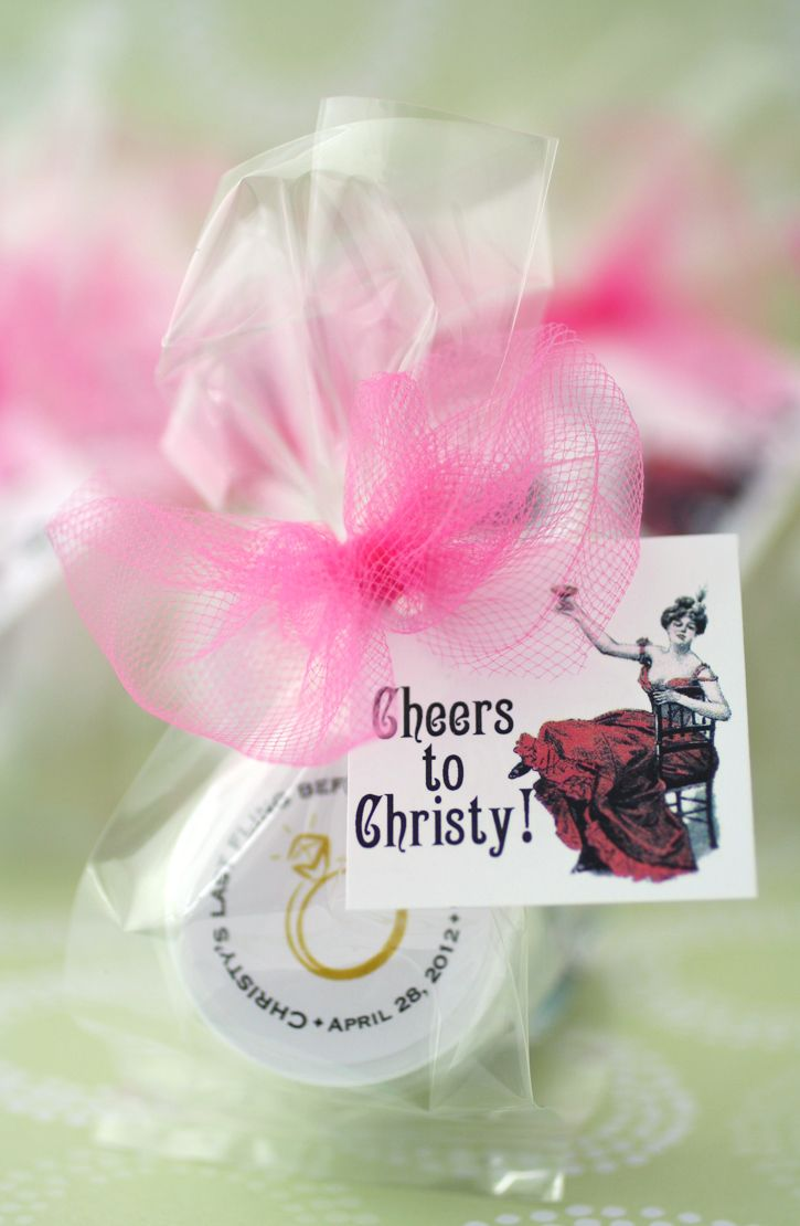 Bachelorette Lip Balm + Custom Labels + Tags | Favours, Hen nights ...