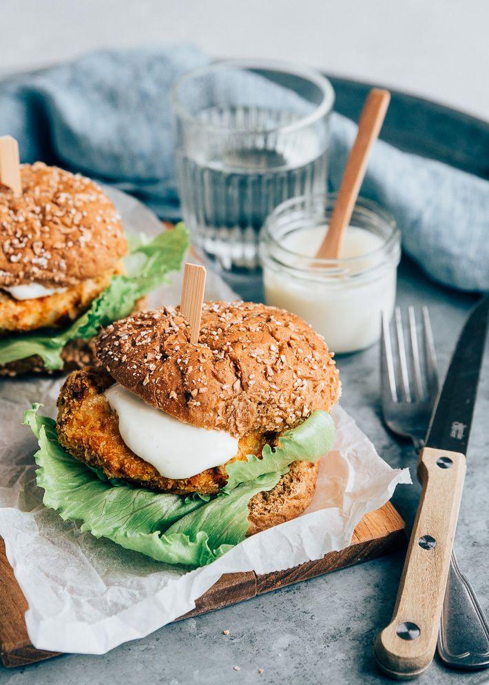 Gezonde Mc Chicken - Uit Pauline's Keuken