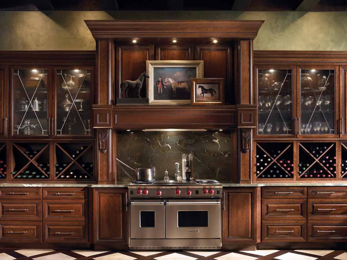 Kitchen Wine Cabinet Kitchens 12 Storage Solutions Wine Storage