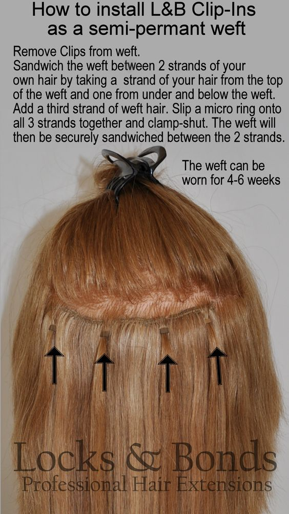 Convenient drip dry and safe storage for clip in extensions using fastereasier way to attach hair extensions how to attach weft pmusecretfo Image collections