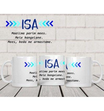 10d92cb953b Kruus ISA - parim mees Kui otsid oma kallile isale või laste isale  praktilist, samas