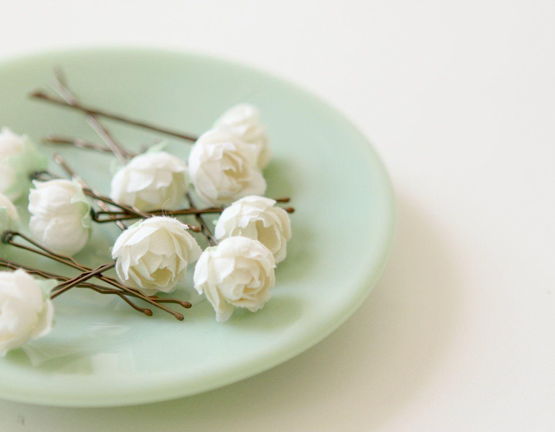 Florecitas Manualidades Pinterest Bridal Hair Flower Hair And