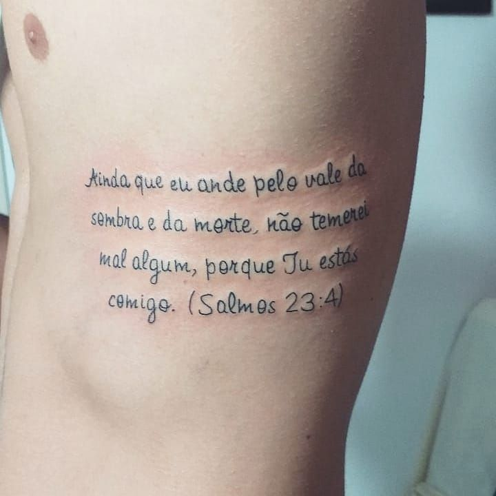 • Salmos 23:4 • 🙏🙌 💉💉 feita no meu mano @hyago_cardones tamo junto meu 🥋!! Valeu a confiança!! #tattooed #tattoo #tatuagem #tatuaje #aprendiz #aprendizagem #aprendizado #electricink #ink #inked #inktattoo #art #tattooart #artist #everlast #fineline #salmos