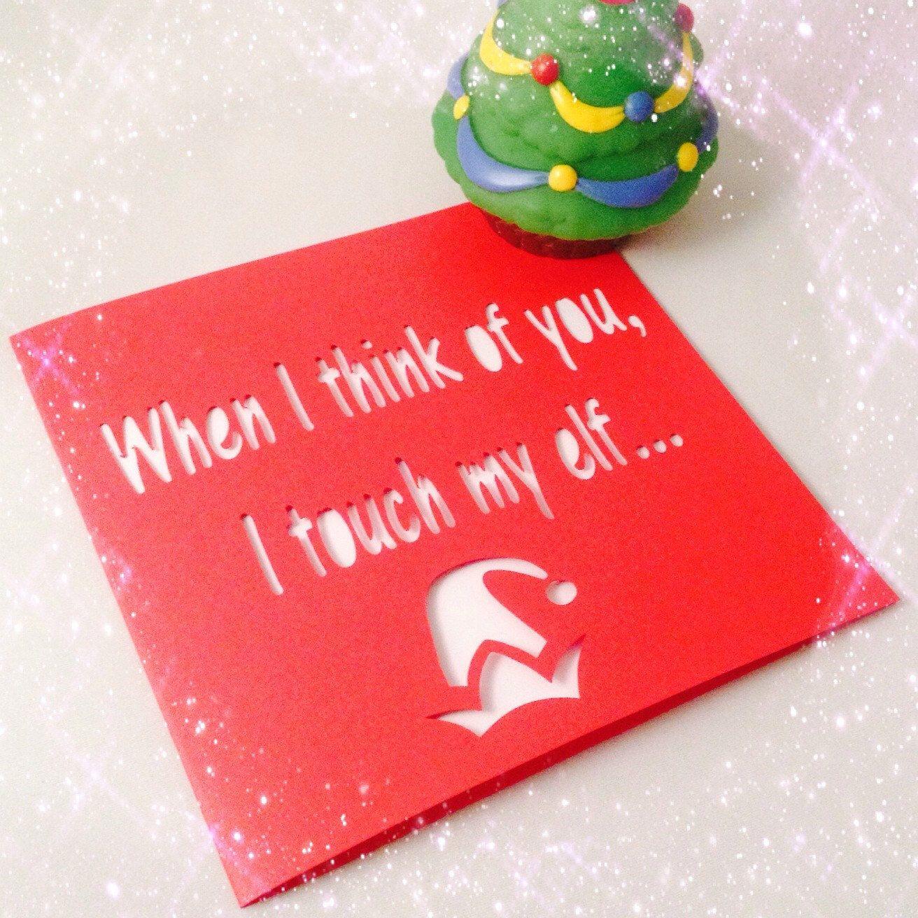 Funny christmas card, rude christmas card, boyfriend christmas ...