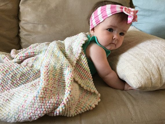 My daughter!!!! Grab a HAND WOVEN Baby Blanket by aquaenergydesigns on Etsy