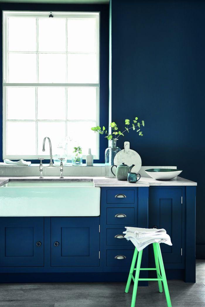 küchenfarben elegante farbkombination in der modernen küche - küchen farben trend