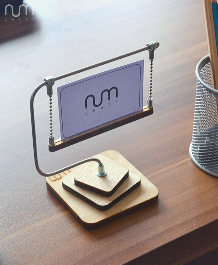 Business Card Stand Business Card Holder For Desk Business Etsy Business Card Stand Business Card Displays Business Card Holders