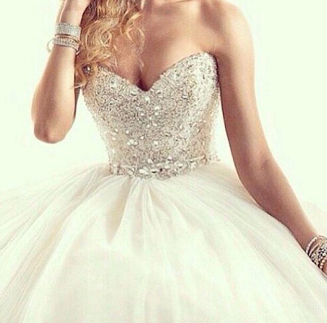 Galla kjole hvid