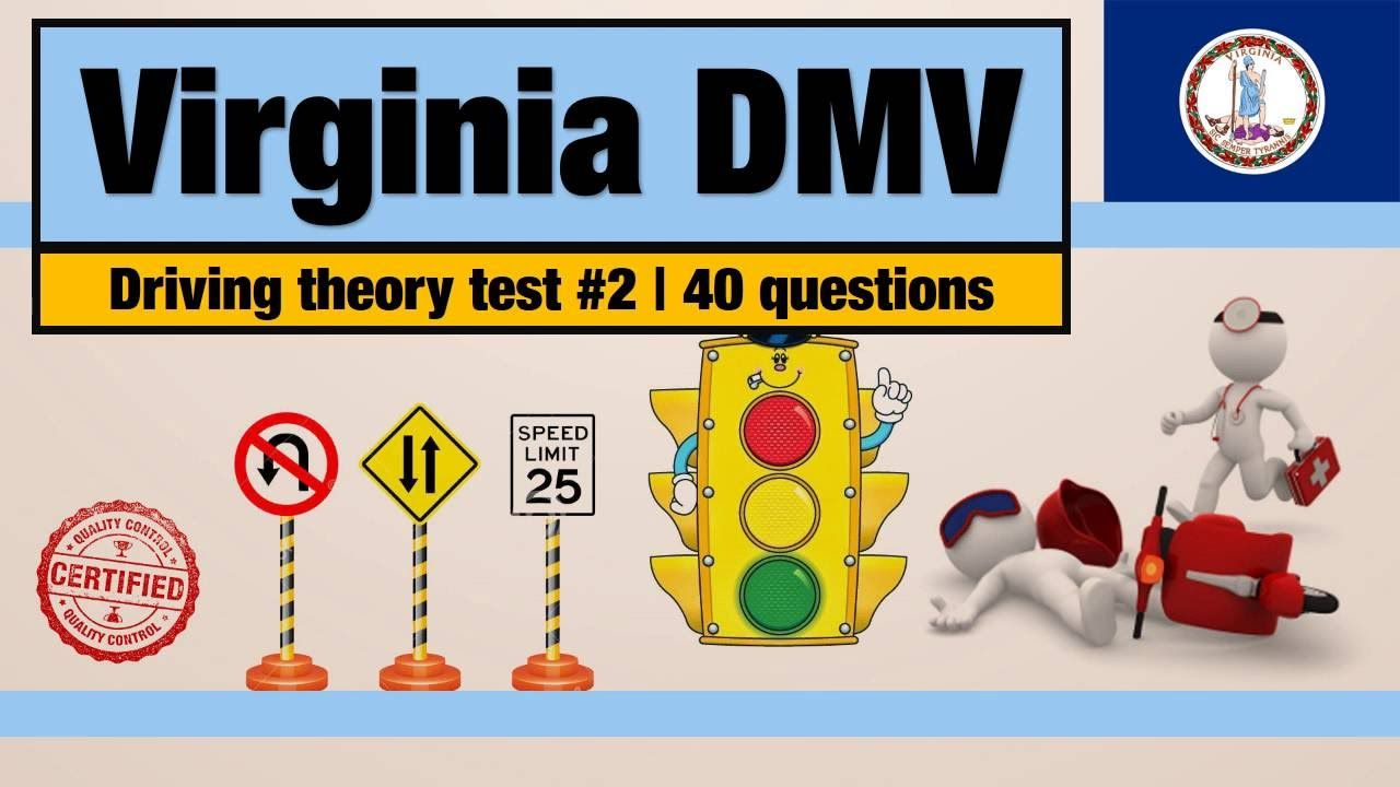 Driving Theory Test Virginia Dmv Permit Practice Test 2 Driving